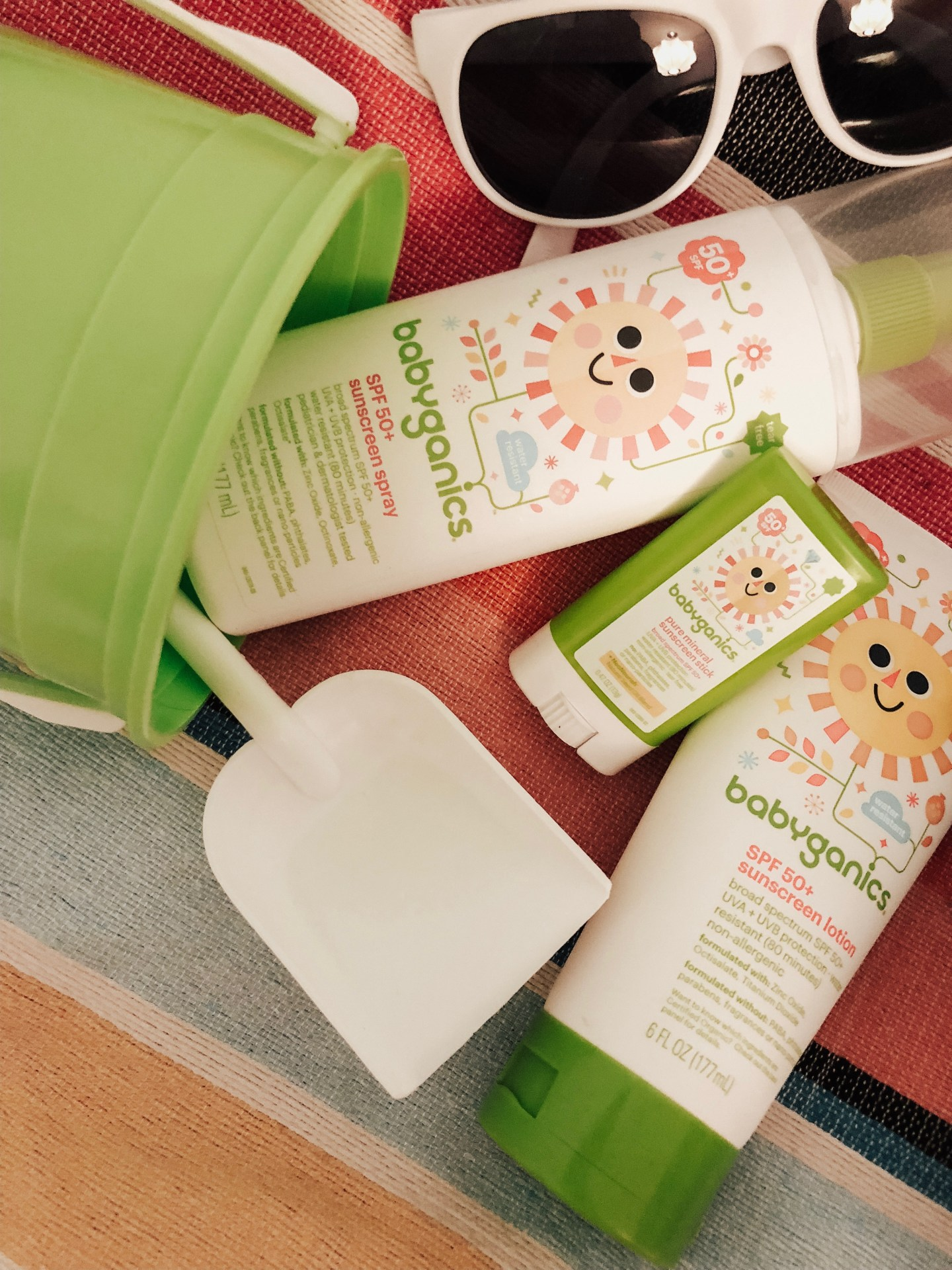 BABY SUN SAFETY featured by top US mommy blogger Sylvie In The Sky
