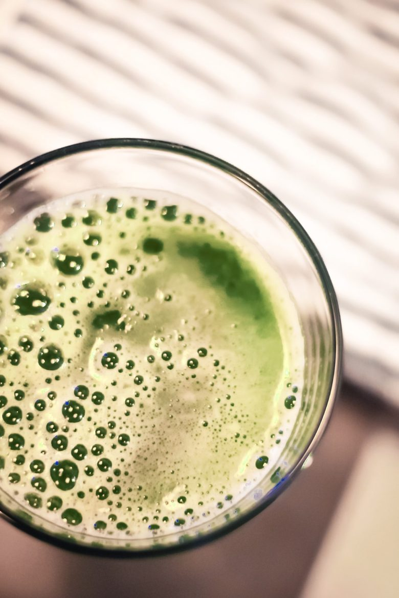 Celery Juice Health Benefits featured by top US lifestyle blog Sylvie in the Sky