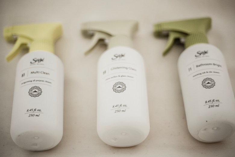 Green Home Cleaning Products featured by top US lifestyle blog Sylvie in the Sky