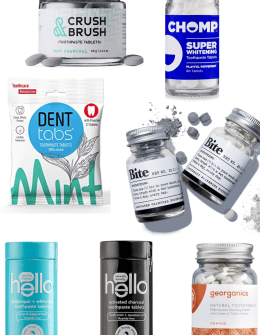 Top 10 Best Toothpaste Tablets featured by top San Diego healthy lifestyle blogger, Sylvie in the Sky