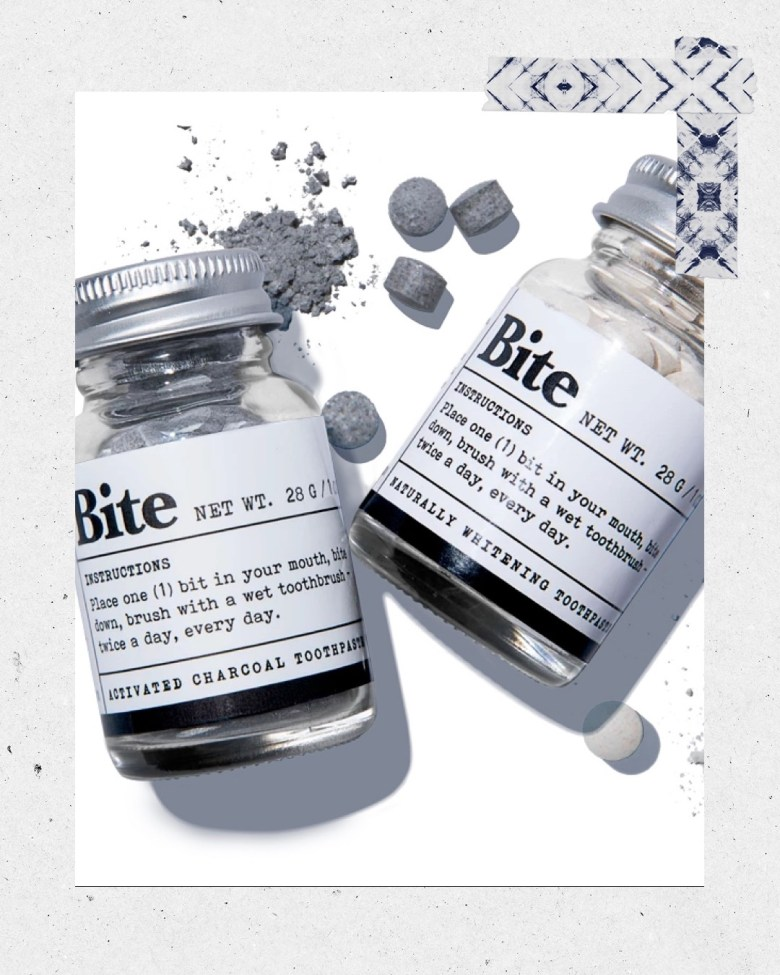 Top 10 Best Toothpaste Tablets featured by top San Diego healthy lifestyle blogger, Sylvie in the Sky: bite