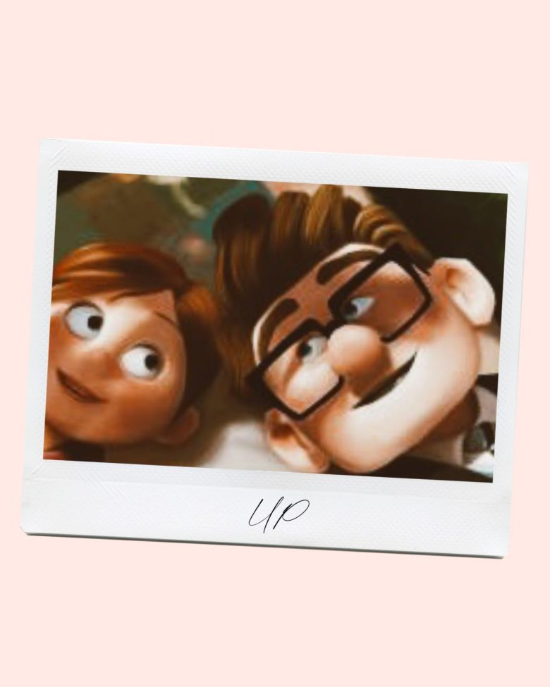 Valentine's Day Movies by popular San Francisco lifestyle blog, Sylvie in the Sky: image of Up movie still.