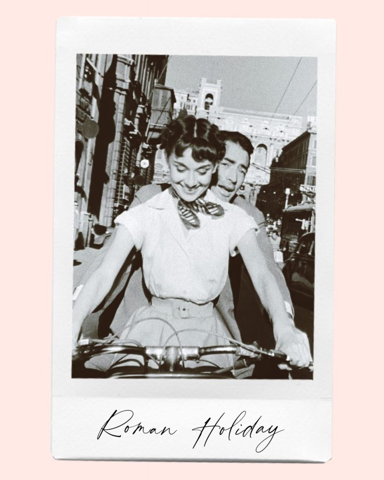 Valentine's Day Movies by popular San Francisco lifestyle blog, Sylvie in the Sky: image of Roman Holiday movie still.