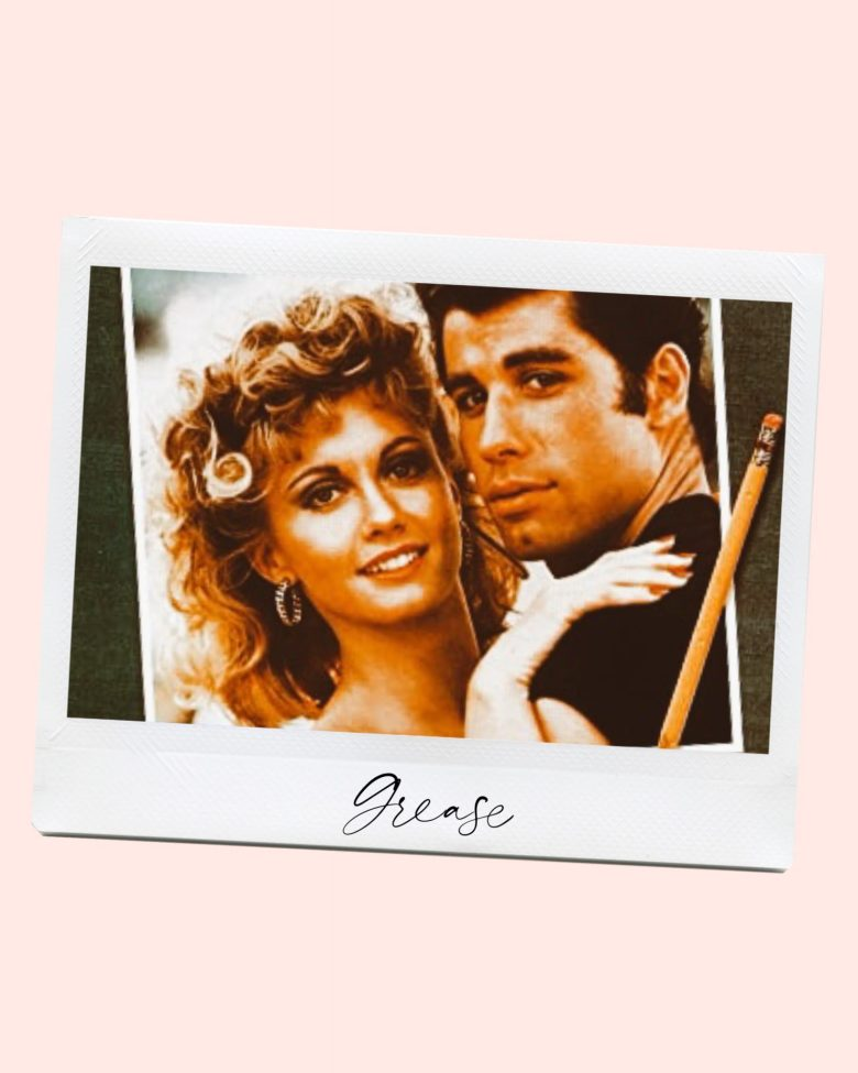 Valentine's Day Movies by popular San Francisco lifestyle blog, Sylvie in the Sky: image of Grease movie still.