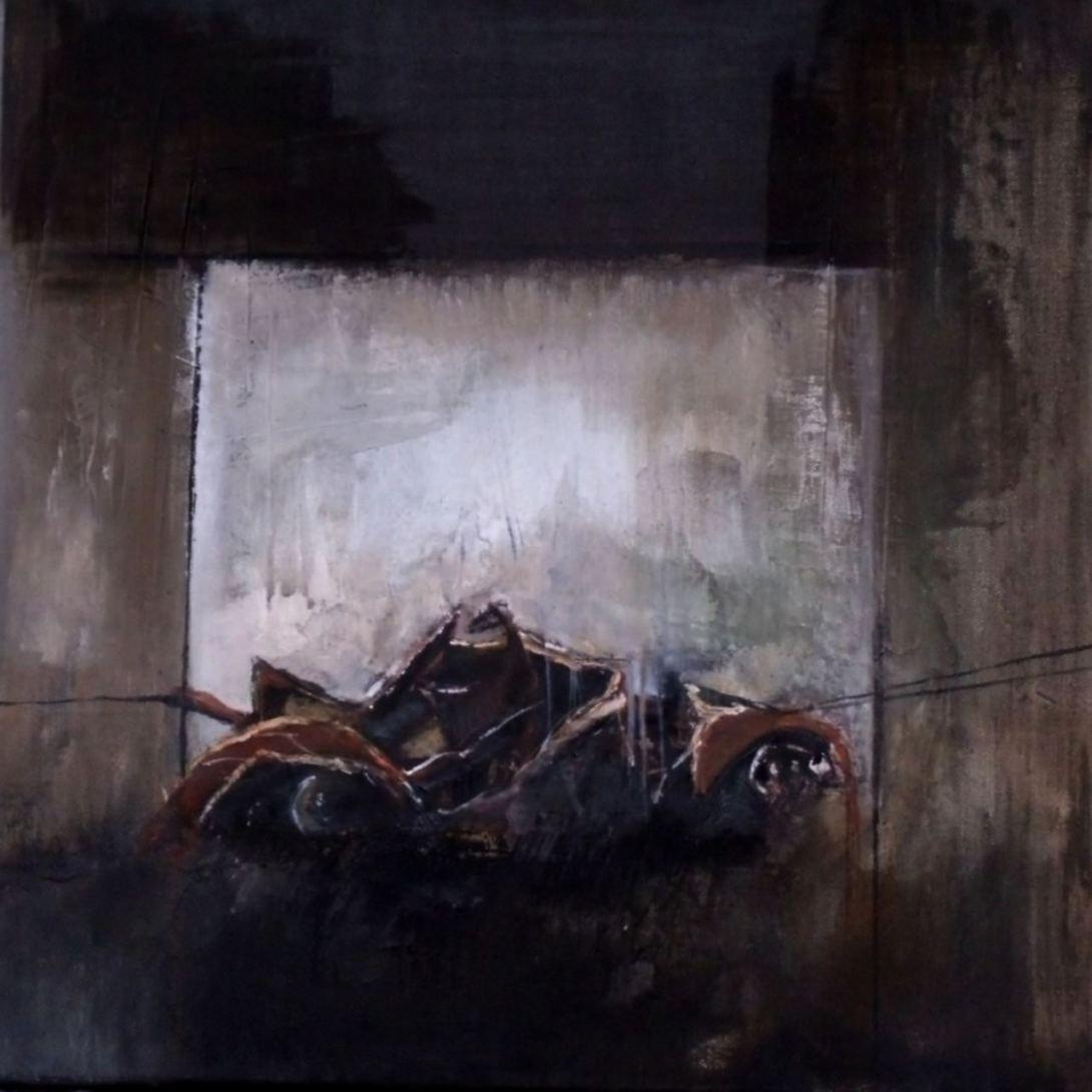 peinture Thouron. Carcasse 1