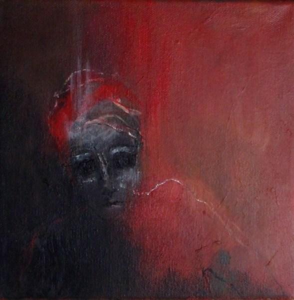 peinture thouron La tête dure-5