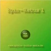Erstes Spin-Rebus - bei Draufklicken wird das Original auf der HP angezeigt