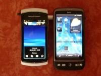 Bild - Vivaz Pro und HTC Desire im Vergleich