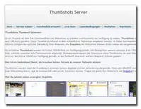 Webseite Thumbshot Server