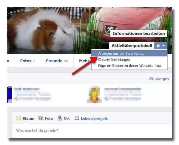 wie man Facebook Profilbild löscht