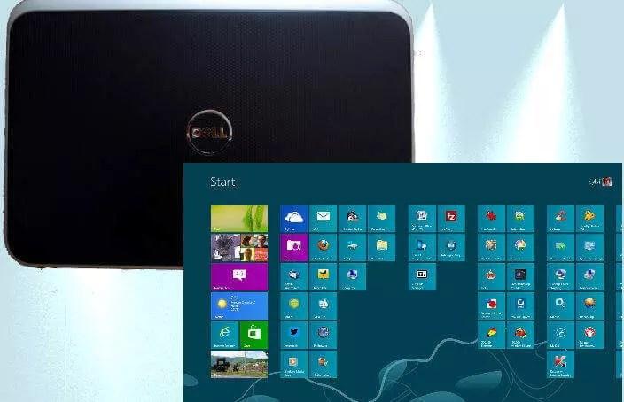 Windows 8 und DELL Inspiron