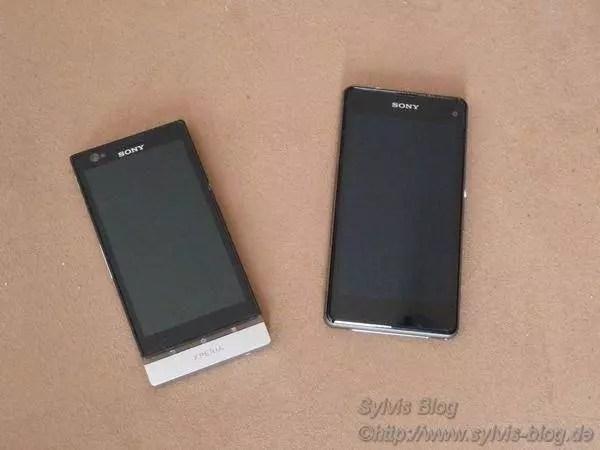 Sony Xperia P und Z1 Compact