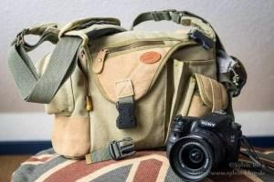 Unscheinbare Fototasche