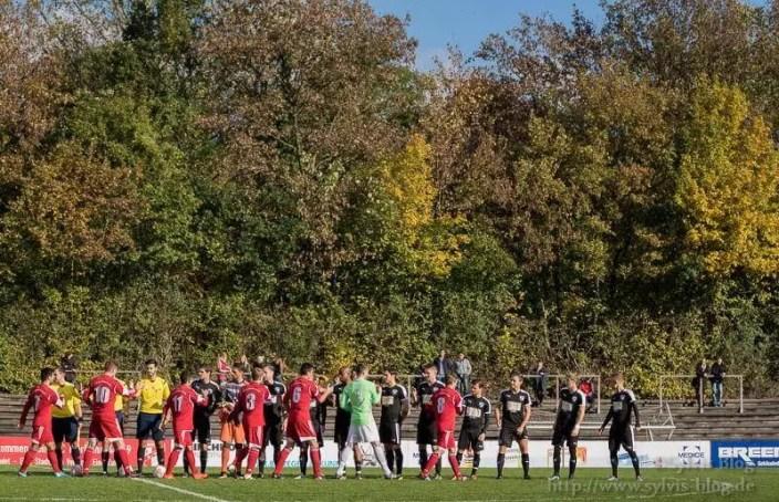 FC Iserlohn vs. FC Lennestadt im Herbst 2016