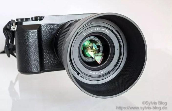 30er Sigma Objektiv f 1.4,
