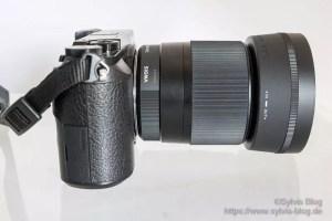 Panasonic Lumix GX 80 mit dem 30er Sigma Objektiv