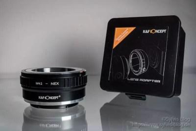 K&F Concept® M42 auf Sony Nex Alpha E-Mount-Adapter