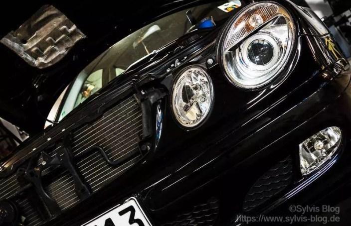 Mercedes Benz von vorne