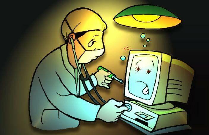 Computerreparatur