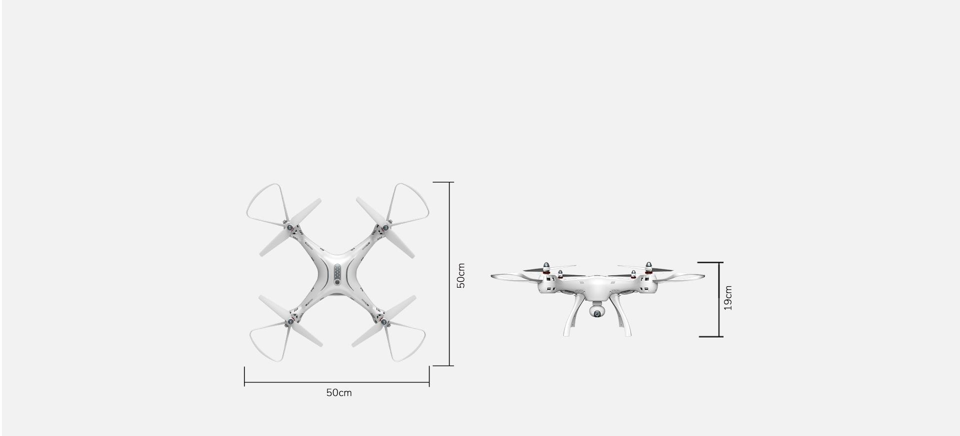 Rc Gps Wi Fi Fpv Camera Drone