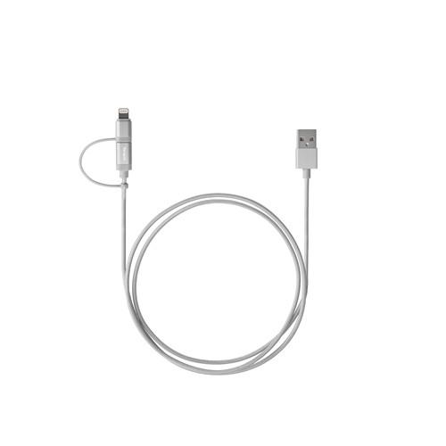 Aluminium Series 2-in-1 (Lightning & Micro USB) Cable