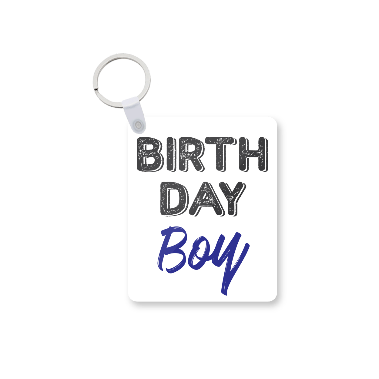 Birthday Boy Printed Keychain kc-537 price in Pakistan at