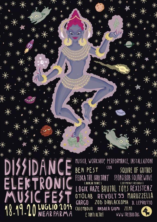 dissidance2014