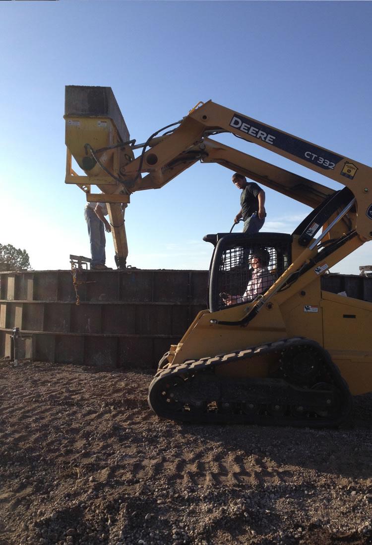 Concrete Water Tanks - San Angelo, TX.