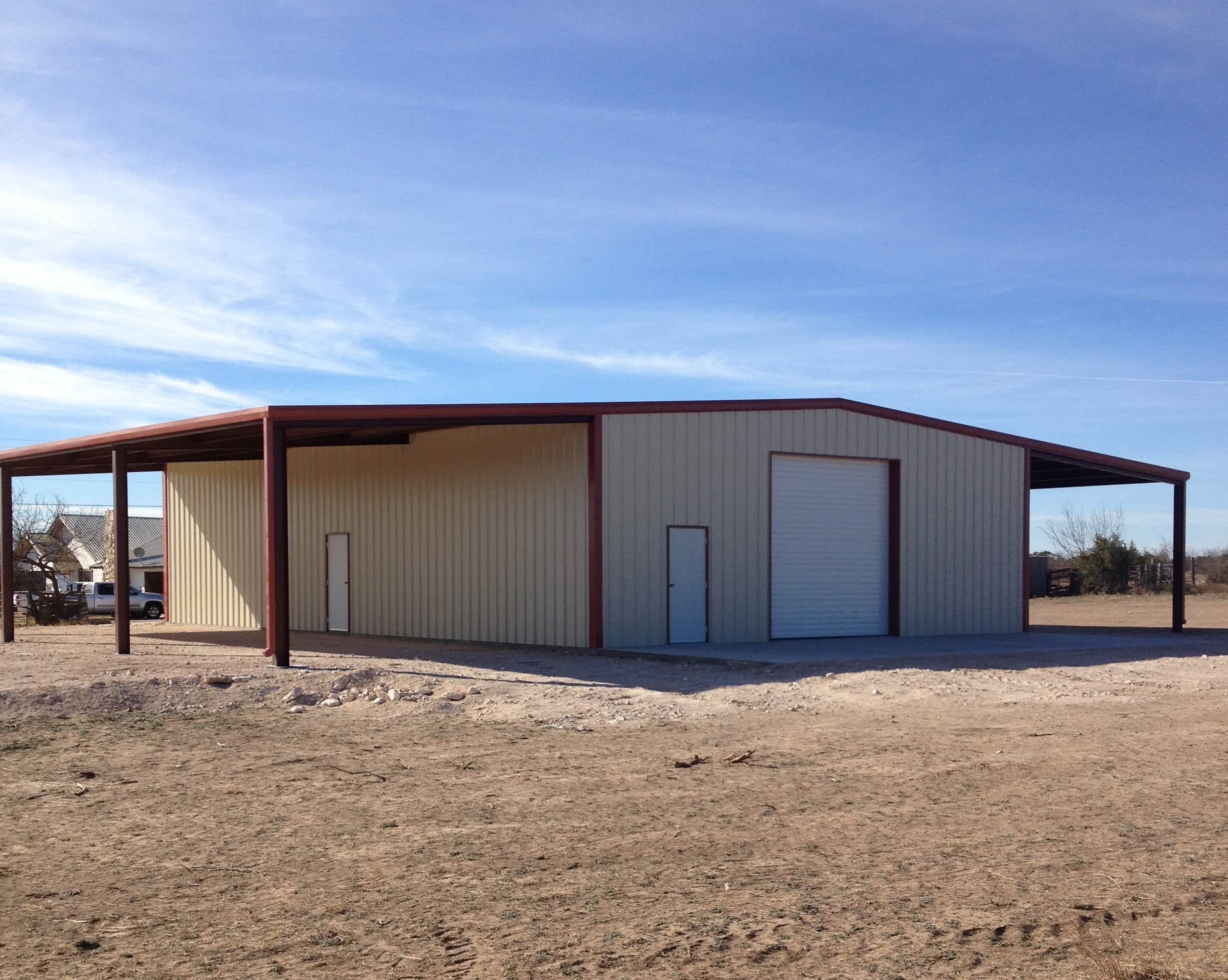 Construction Of Steel Buildings: Serving San Angelo