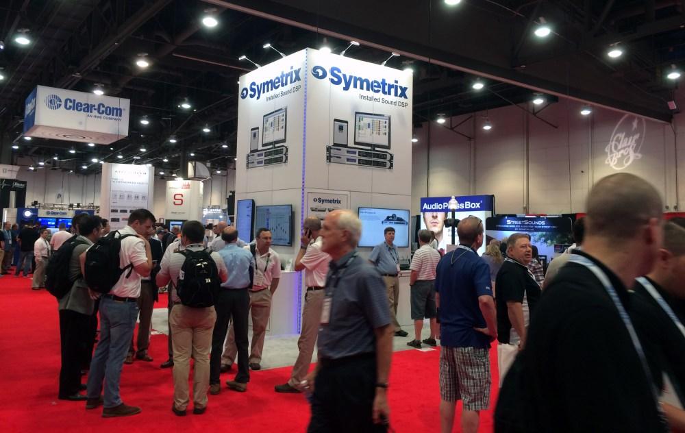 InfoComm 2016 Symetrix Booth