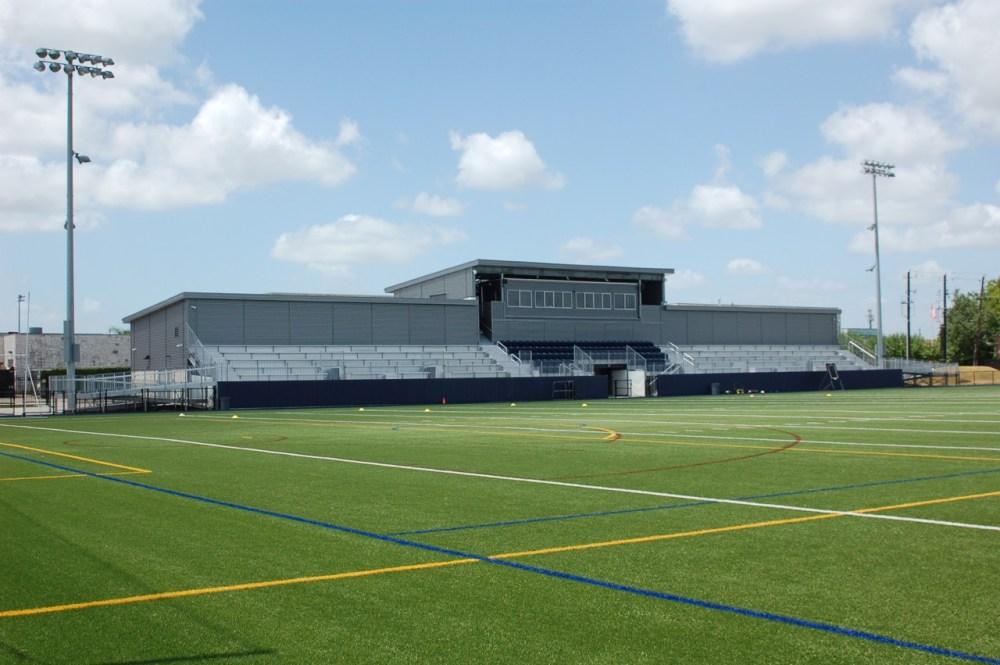 Caress Stadium Athletic Building.