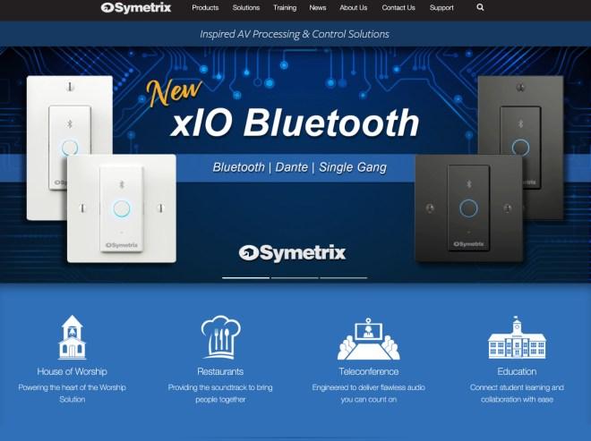 Symetrix Website Launch