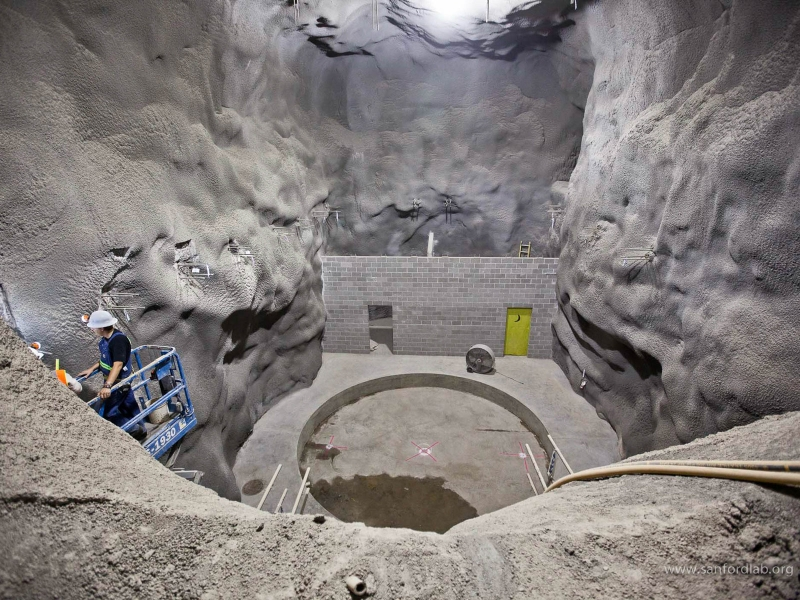 Sanford Underground Laboratory   sciencesprings