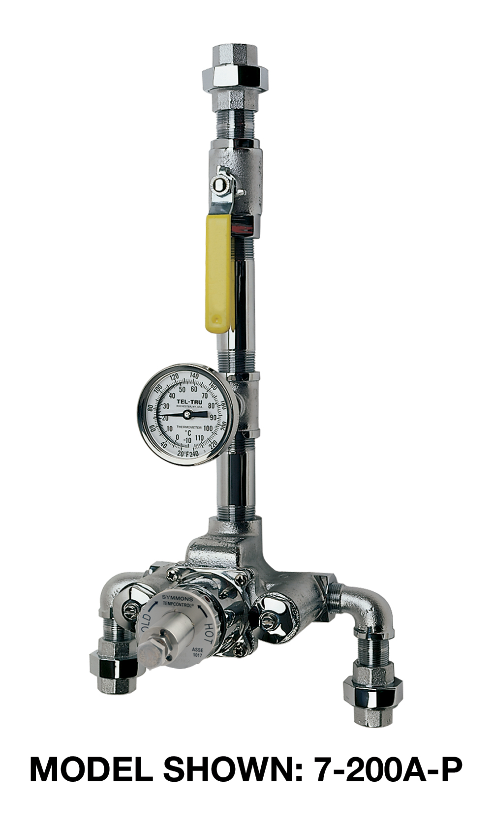 TempControl® Thermostatic Mixing Valve and Piping Assembly