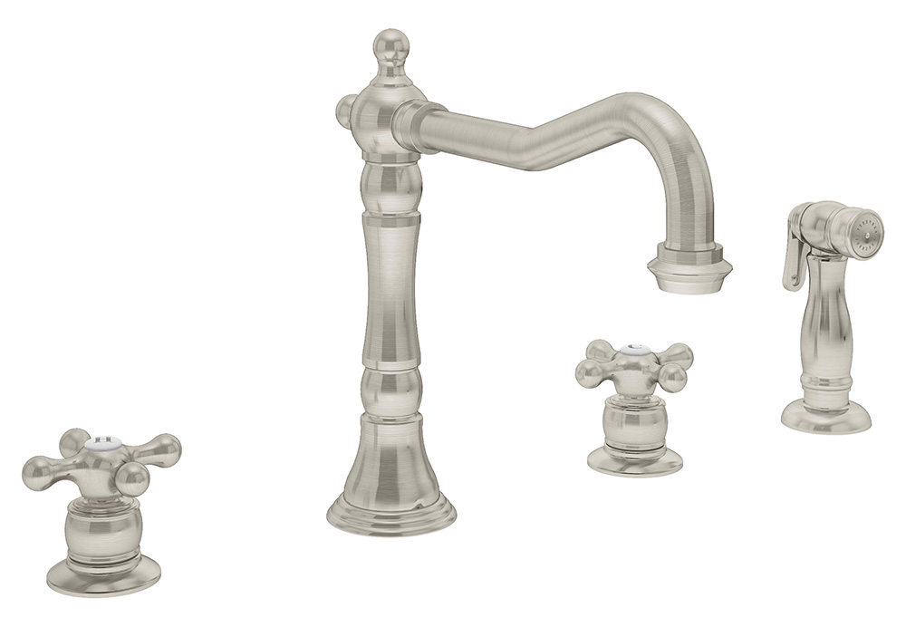 two handle kitchen faucet c carrington s 2650 2 stn symmons
