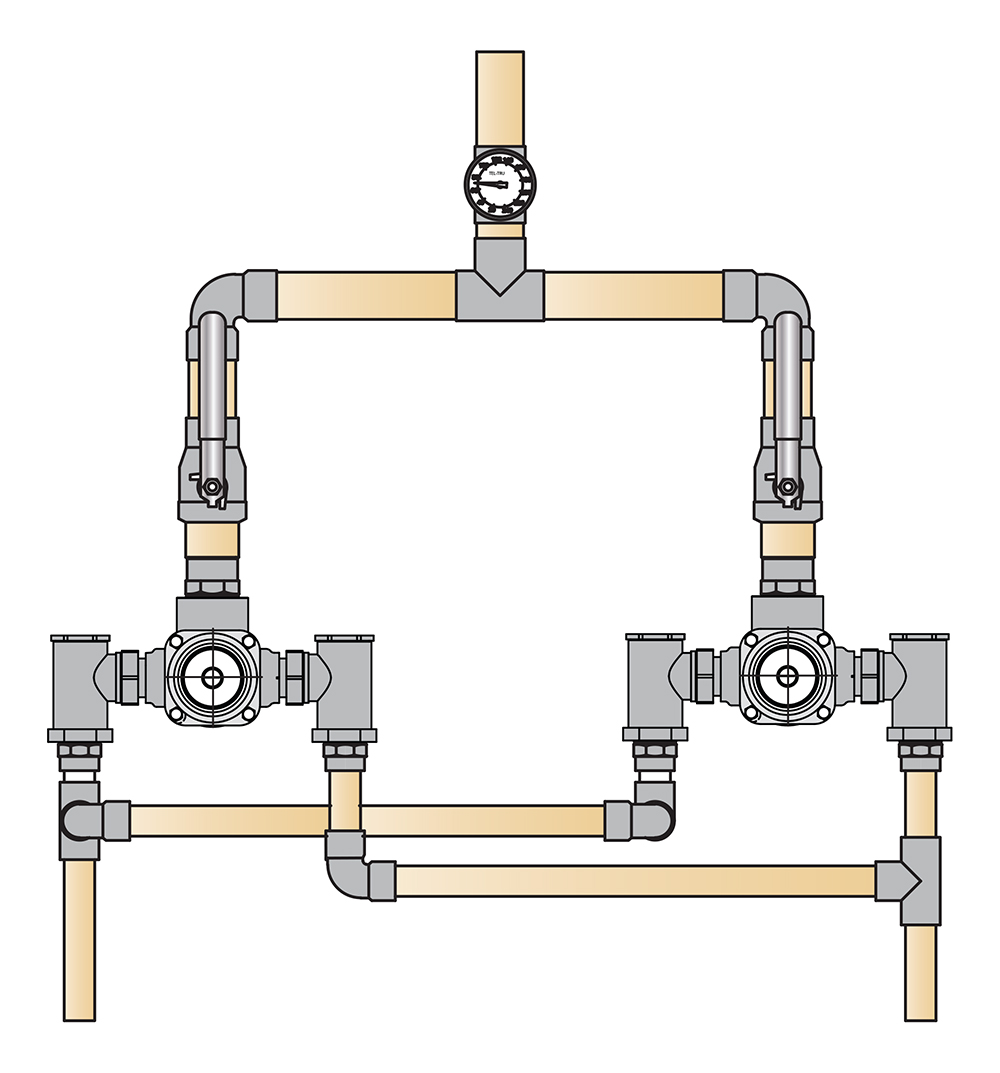 hight resolution of tempcontrol hi low thermostatic mixing valve and piping system