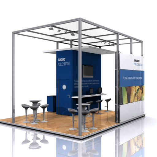 Exhibition Display Solutions : Symon systems ms displays total exhibition display