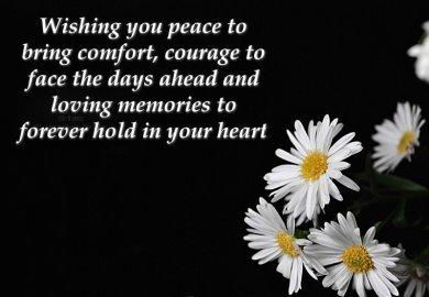 Pet Condolence Messages Sympathy Card Messages