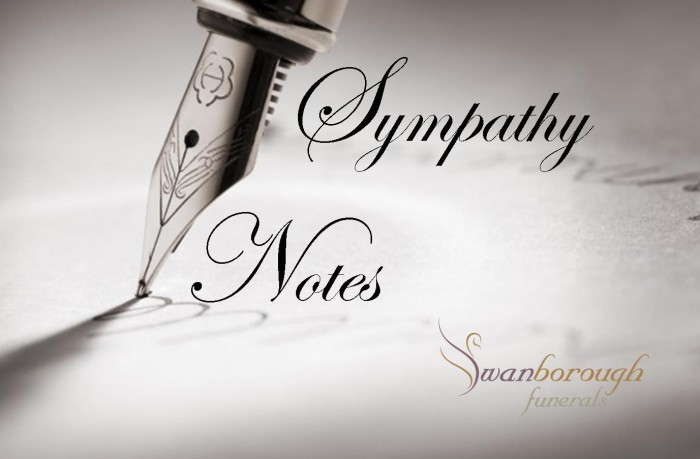 sympathy notes sympathy card