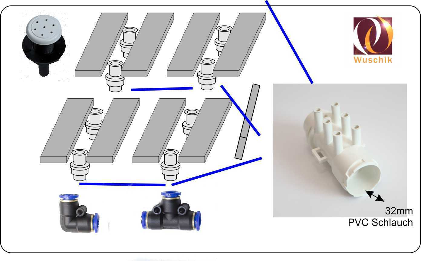 hight resolution of  customized hot tub kit concrete 24 air 24 water jets