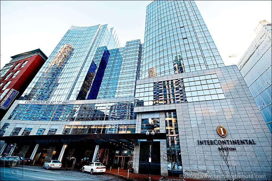 The Intercontinental Hotel Boston MA Symphony