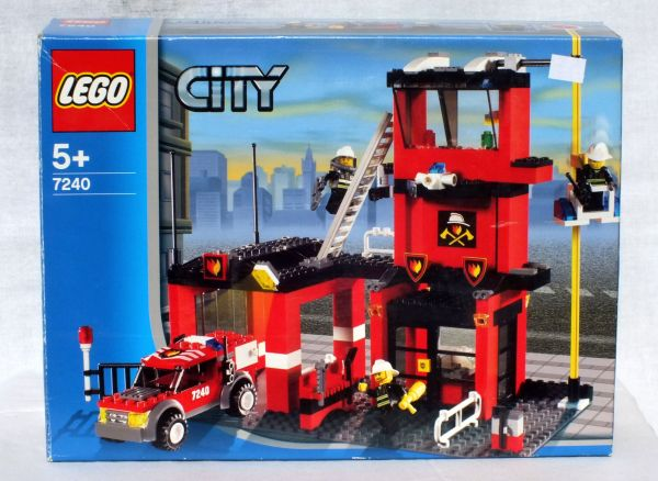 Custom Lego Fire Station Instructions Vtwctr