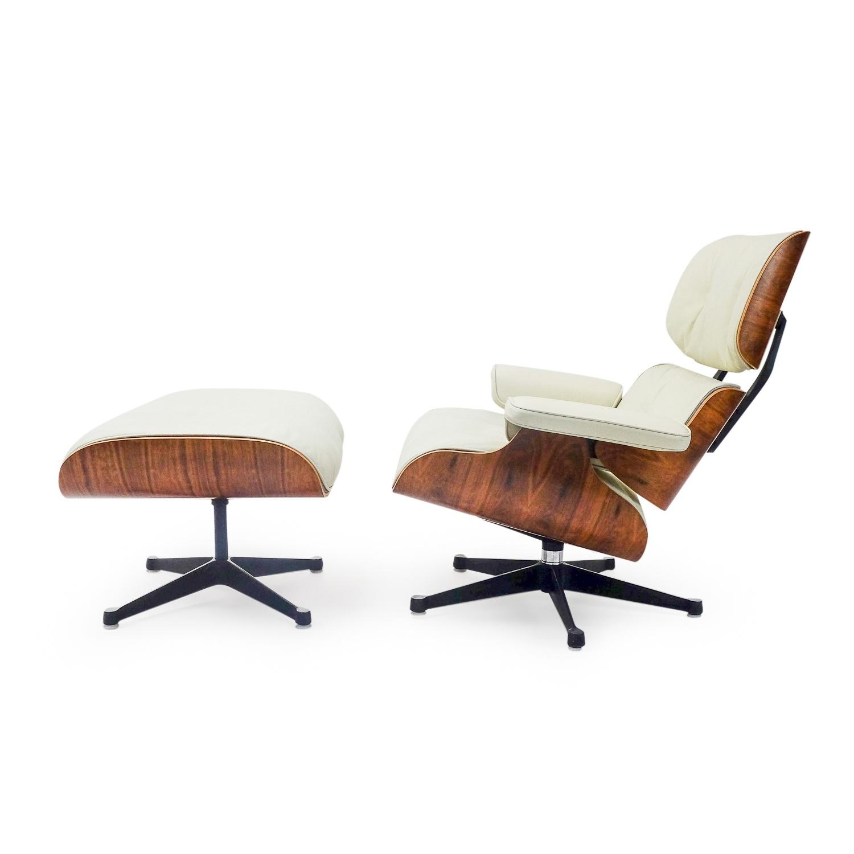 Mobilier International Eames Lounge Chair Ottoman Rio