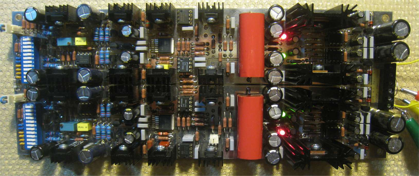 hps wiring diagram with capacitor milbank meter base low noise design schematics