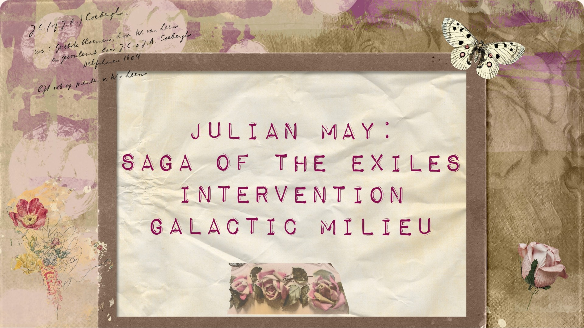 Book review: A Pliocene / Intervention / Galactic Milieu reflection