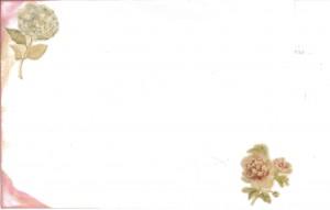 Vintage lace wedding envelope