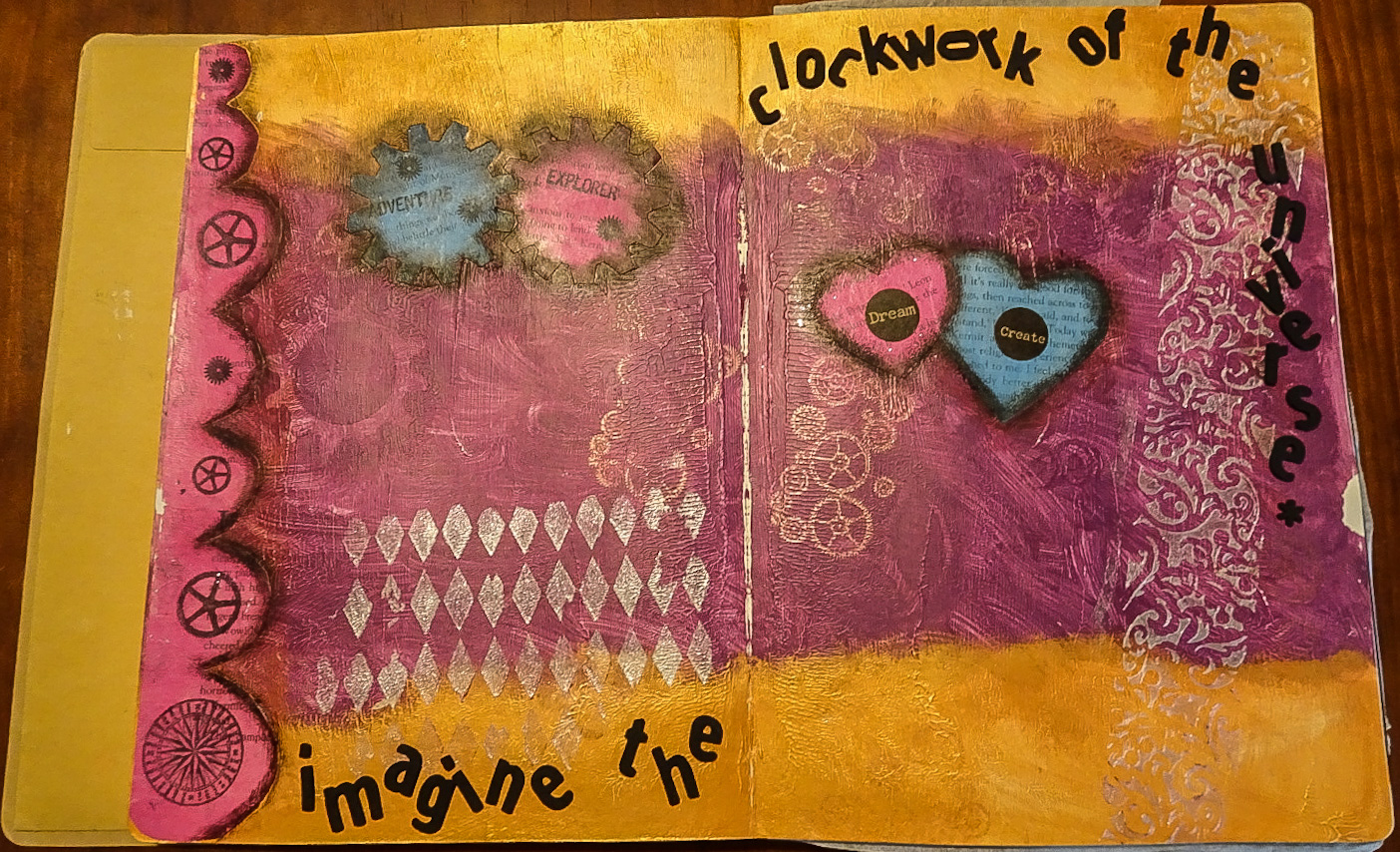 Art Journal pt 1- Clockwork of the Universe