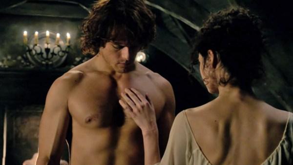 """Outlander's Tactile Caress: a Multisensory Romance"""