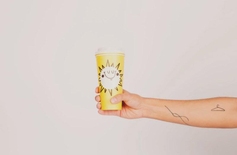sun, cup