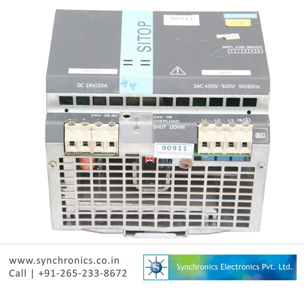 SIPART DR20 S 6DR2001-1A By Siemens Repair at Synchronics ...